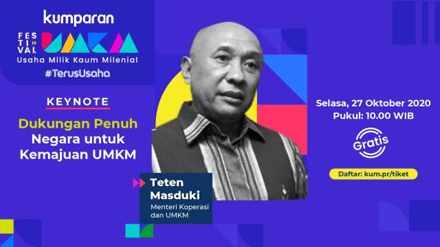 MenkopUKM: UMKM Mengisi 99 Persen Populasi Usaha di Indonesia (110317)