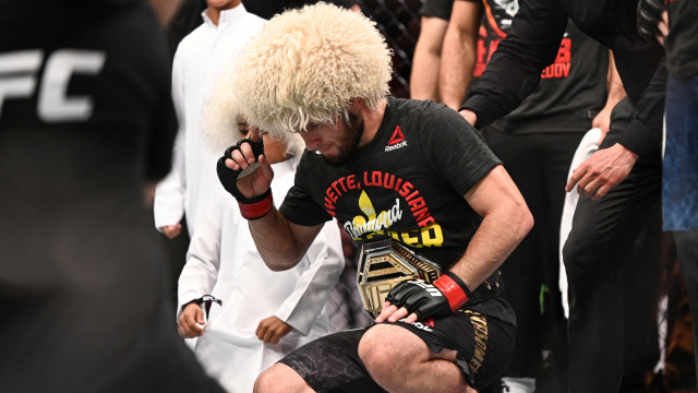 Khabib Nurmagomedov Sapa Presiden UFC di IG, Kode Comeback? (594333)