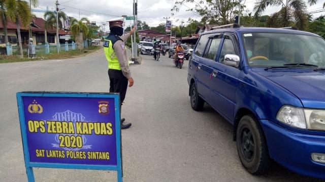 Perhatikan 7 Hal Ini agar Tak Ditilang Polisi pada Operasi Zebra di Sintang (305684)