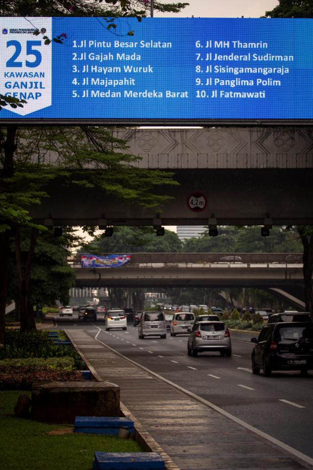 PSBB Transisi Diperpanjang, Ganjil Genap Masih Belum Diberlakukan di Jakarta (664829)