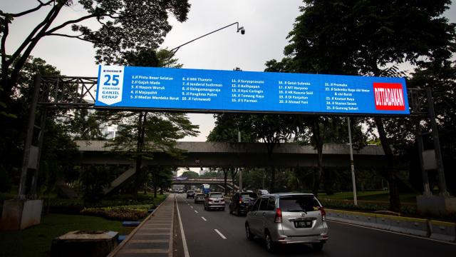PSBB Transisi Diperpanjang, Ganjil Genap Masih Belum Berlaku di Jakarta (6749)