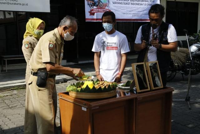 Lestarikan Wayang Suket, Pemuda Ini Touring ke-20 Kota Besar di Pulau Jawa   (66947)