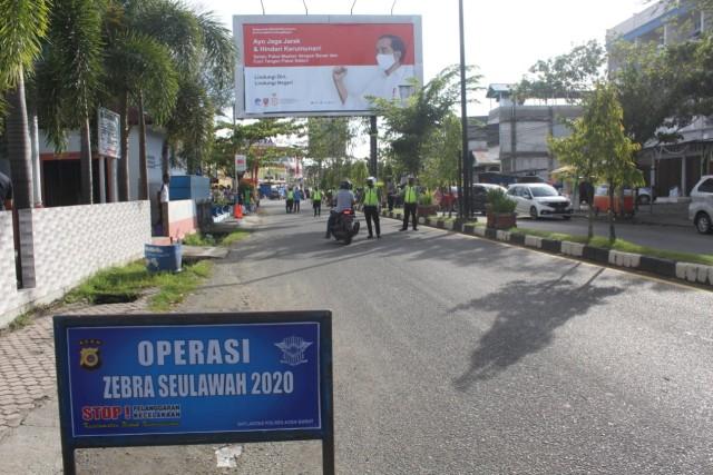 Operasi Zebra di Aceh Barat, Polisi Jaring Pengemudi Tak Pakai Masker (258604)