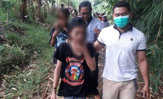 Diduga Curi Pisang, 2 Remaja di Brebes Diamankan Polisi (143619)