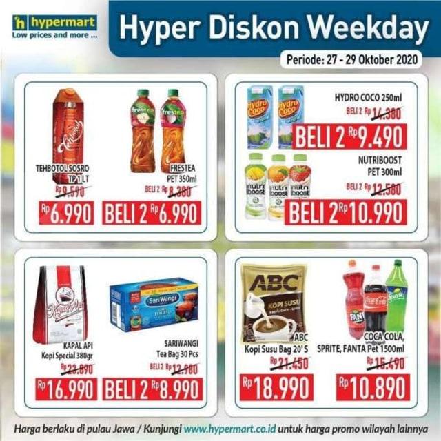 Katalog Promo Hypermart Periode 27-29 Oktober 2020 (528482)