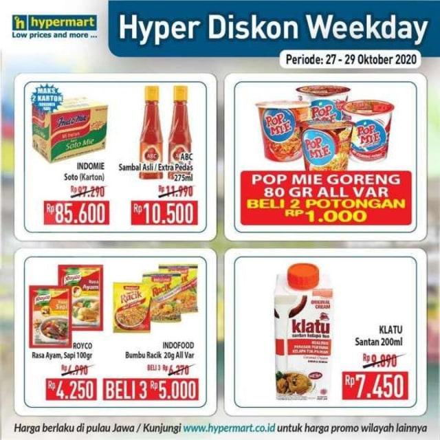 Katalog Promo Hypermart Periode 27-29 Oktober 2020 (528483)