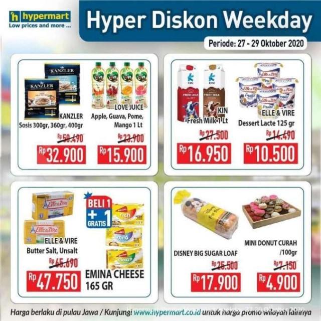 Katalog Promo Hypermart Periode 27-29 Oktober 2020 (528484)