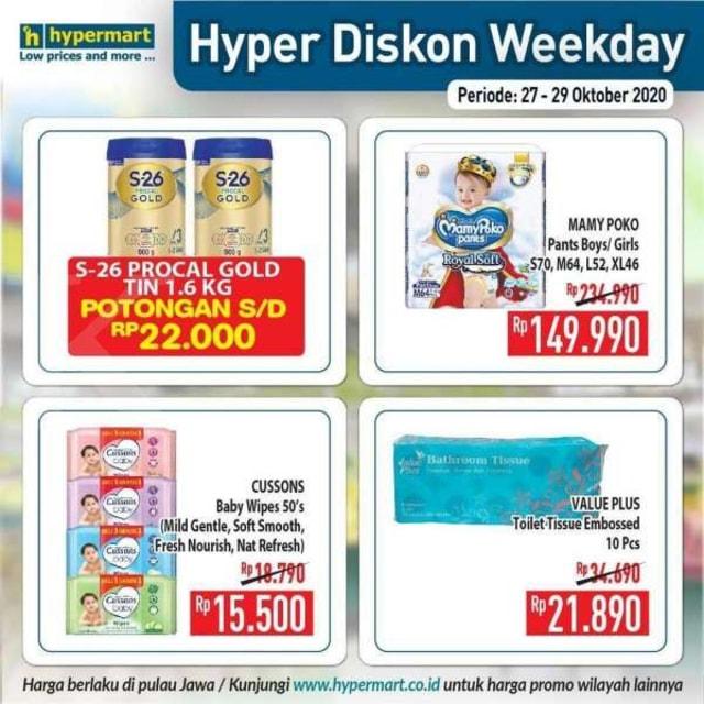 Katalog Promo Hypermart Periode 27-29 Oktober 2020 (528486)