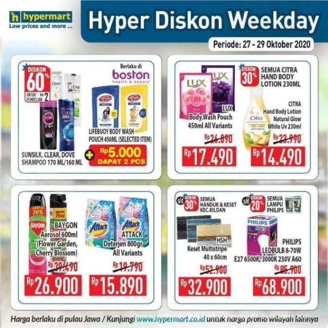Katalog Promo Hypermart Periode 27-29 Oktober 2020 (528487)