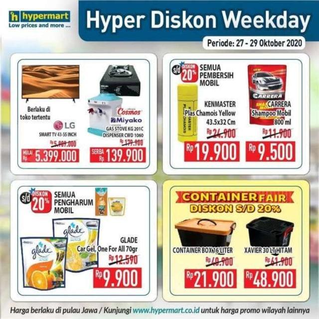 Katalog Promo Hypermart Periode 27-29 Oktober 2020 (528488)