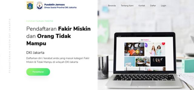 Syarat Pendaftaran Fakir Miskin dan Orang Tidak Mampu DKI Jakarta (37764)