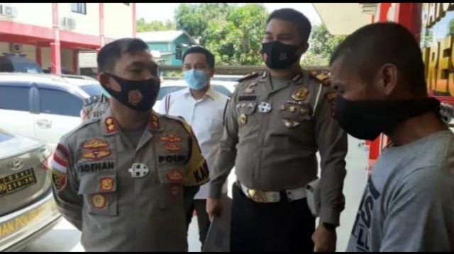 Garang saat Emosi, Pria Karimun Ternyata Hancurkan Motor Pinjaman (369793)