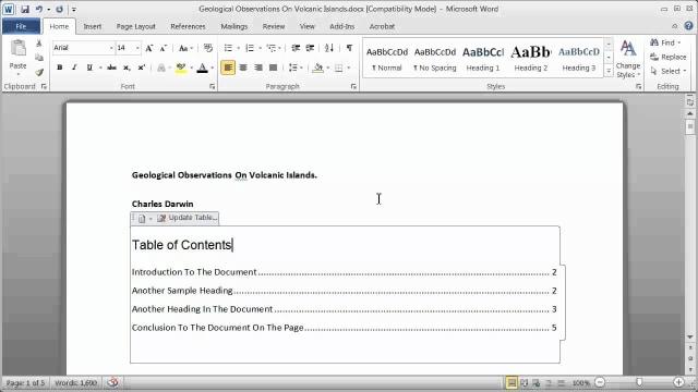 Cara Membuat Daftar Isi Di Word 2013 Ternyata Semakin Mudah Kumparan Com