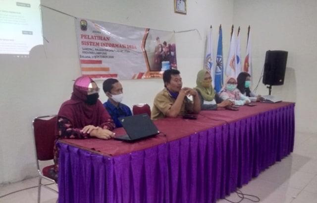 Dosen Itera Dampingi Desa Banding Lampung Selatan Manfaatkan Teknologi Informasi (89252)