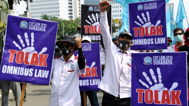 UU Corona hingga Omnibus Law Cipta Kerja Paling Banyak Digugat ke MK Tahun 2020 (374660)