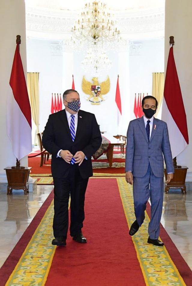 Foto: Menlu AS Mike Pompeo Temui Presiden Jokowi di Istana Bogor (270536)