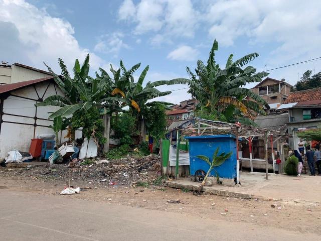 Tempat Kumuh di Gunung Sari, Bandar Lampung Diubah Jadi Taman Bermain Anak (93479)