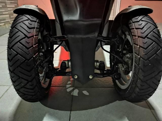 Unik! Honda Vario Ini Punya 3 Roda, Modal Modifikasi Rp 12 Jutaan (84239)
