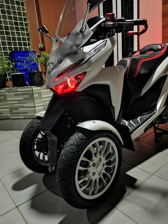 Unik! Honda Vario Ini Punya 3 Roda, Modal Modifikasi Rp 12 Jutaan (84243)