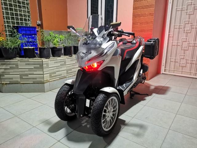 Unik! Honda Vario Ini Punya 3 Roda, Modal Modifikasi Rp 12 Jutaan (84242)