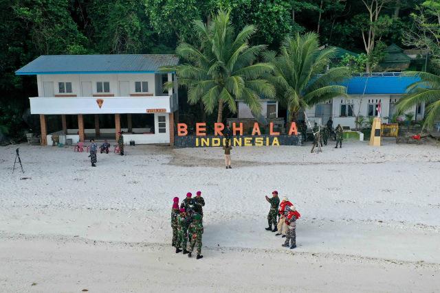 Foto: Prajurit TNI Jaga Kedaulatan NKRI di Selat Malaka (52334)