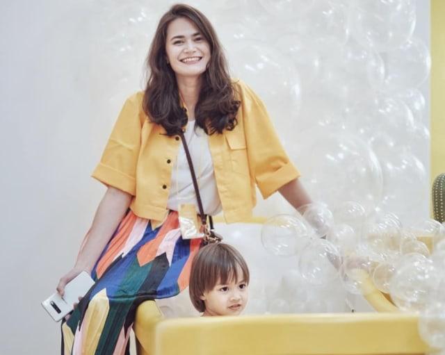 Profil Sabai Morscheck, Istri Ringgo Agus Rahman yang Baru Melahirkan Anak Kedua (359485)