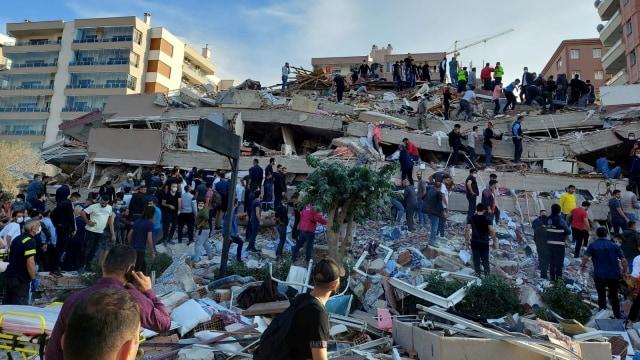 Turki Gempa 7 Magnitudo: Muncul Peringatan Tsunami, Air Laut Naik ke Pesisir (37164)