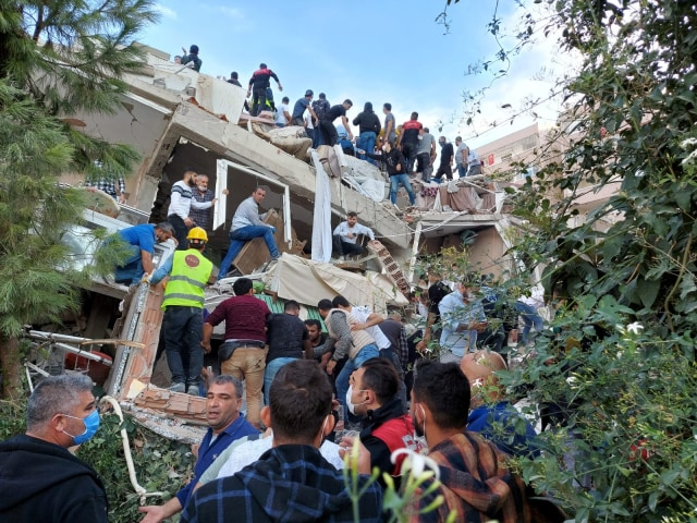 Turki Gempa 7 Magnitudo: Muncul Peringatan Tsunami, Air Laut Naik ke Pesisir (37163)