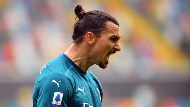 Zlatan Ibrahimovic Jadi Pahlawan AC Milan Atasi Udinese  (34288)