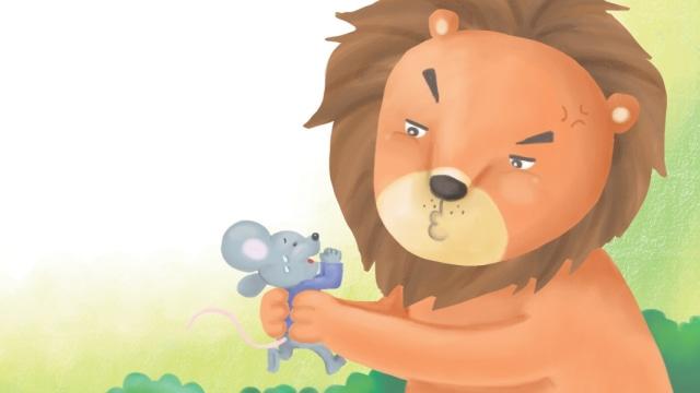 Dongeng Anak: Tikus dan Singa Saling Menolong (112880)
