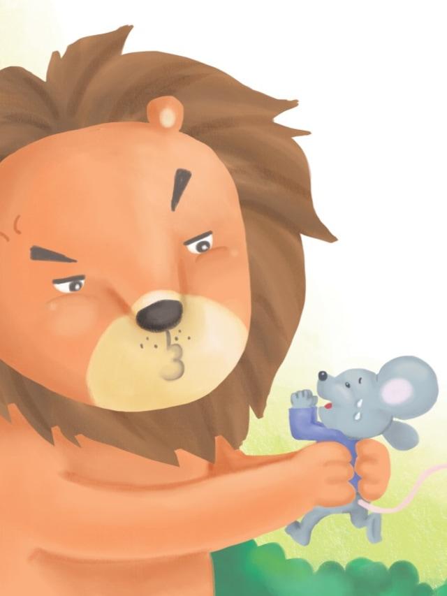 Dongeng Anak: Tikus dan Singa Saling Menolong (112879)