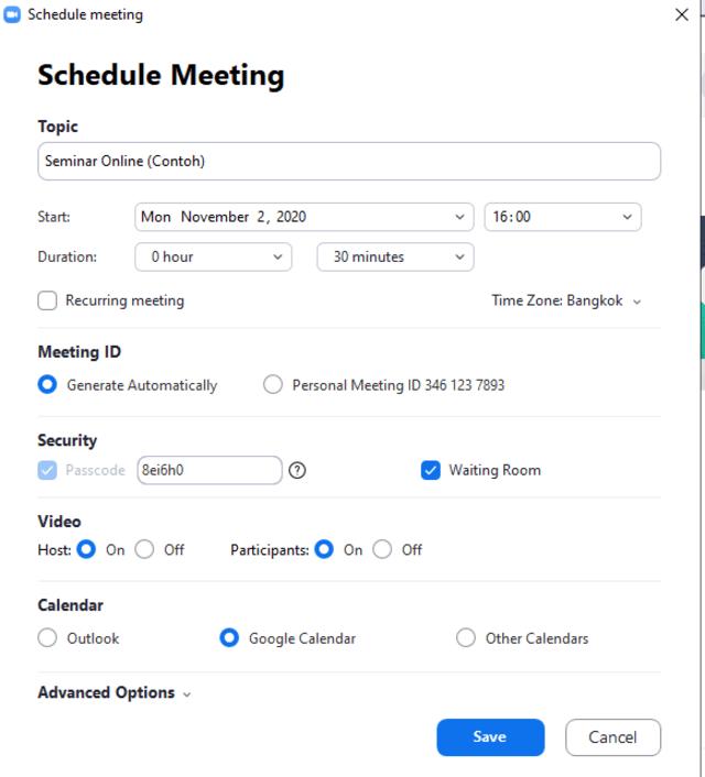 Zoom Ini Cara Membuat Jadwal Meeting Kumparan Com