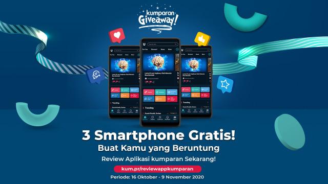 Dapatkan Smartphone dengan Review Aplikasi kumparan! (244392)