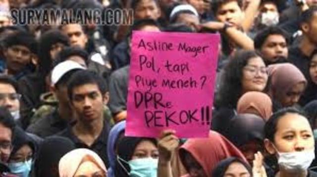 Kerusuhan Demo Mahasiswa Tolak Omnibus Law, Bukan Cerminan Mahasiswa (85368)