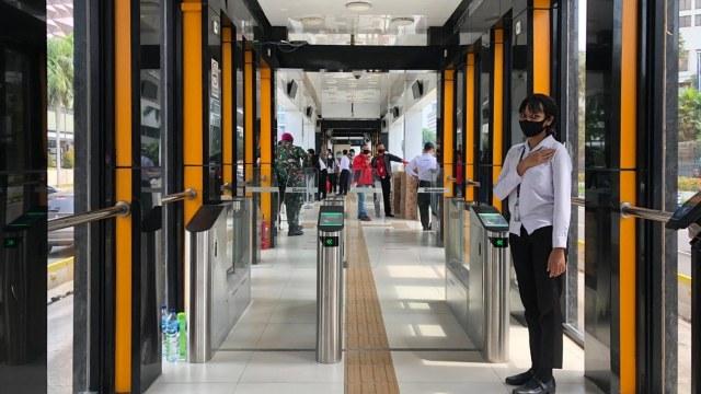 Halte TransJakarta Akan Dijadikan Coffee Shop