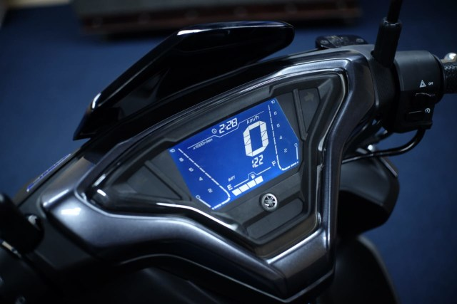 Foto: Wajah Baru All New Yamaha Aerox 155 Connected, Makin Sporty dan Canggih! (316352)