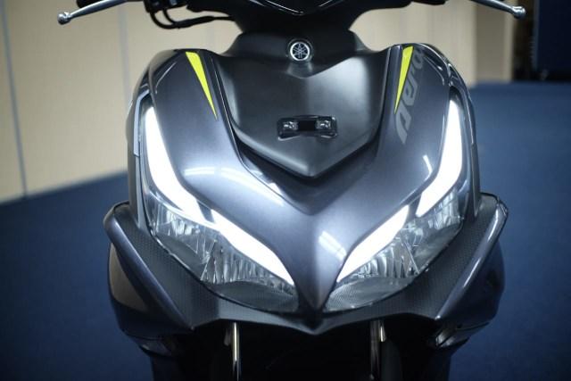 Foto: Wajah Baru All New Yamaha Aerox 155 Connected, Makin Sporty dan Canggih! (316334)
