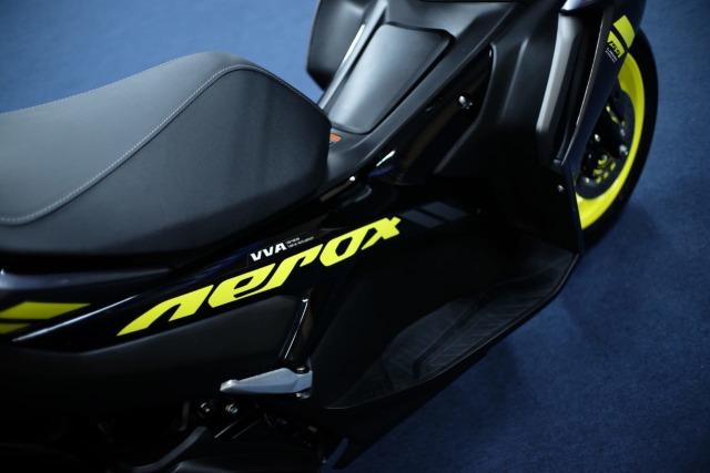 Foto: Wajah Baru All New Yamaha Aerox 155 Connected, Makin Sporty dan Canggih! (316335)