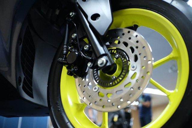 Foto: Wajah Baru All New Yamaha Aerox 155 Connected, Makin Sporty dan Canggih! (316355)