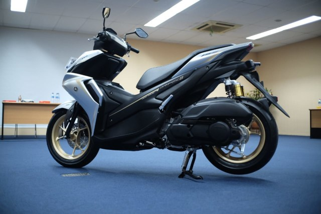 Foto: Wajah Baru All New Yamaha Aerox 155 Connected, Makin Sporty dan Canggih! (316332)