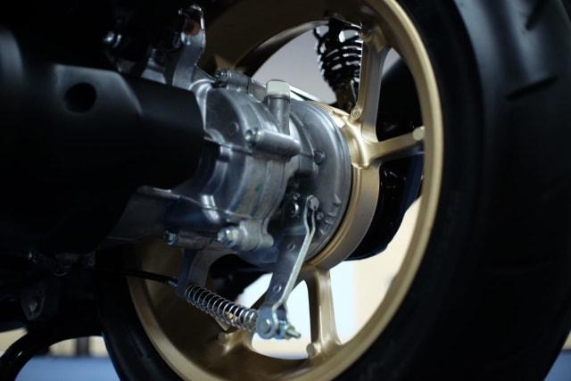 Foto: Wajah Baru All New Yamaha Aerox 155 Connected, Makin Sporty dan Canggih! (316357)