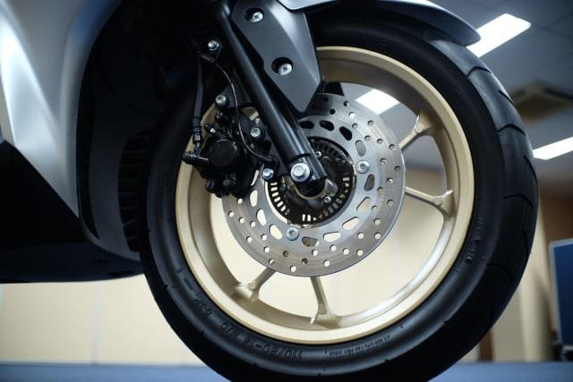 Foto: Wajah Baru All New Yamaha Aerox 155 Connected, Makin Sporty dan Canggih! (316356)