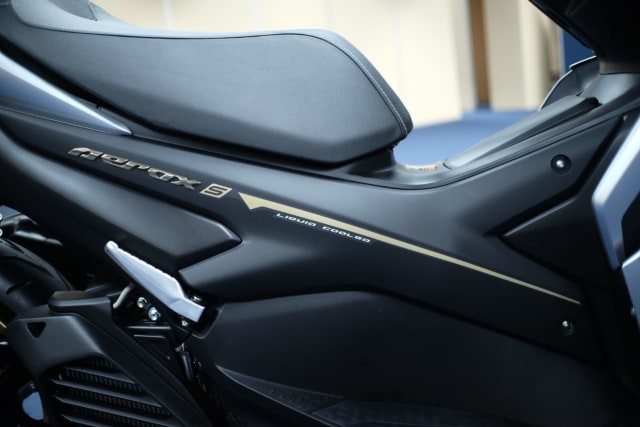 Foto: Wajah Baru All New Yamaha Aerox 155 Connected, Makin Sporty dan Canggih! (316342)