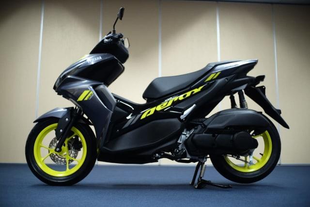 Foto: Wajah Baru All New Yamaha Aerox 155 Connected, Makin Sporty dan Canggih! (316333)
