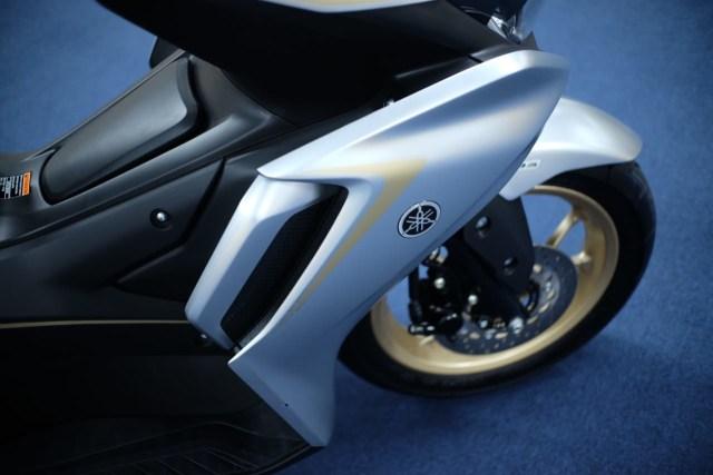 Foto: Wajah Baru All New Yamaha Aerox 155 Connected, Makin Sporty dan Canggih! (316340)