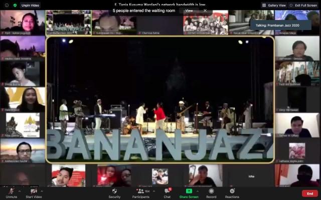 Prambanan Jazz Virtual Festival 2020 Jadi Konser Online dengan Durasi 6 Jam (65766)