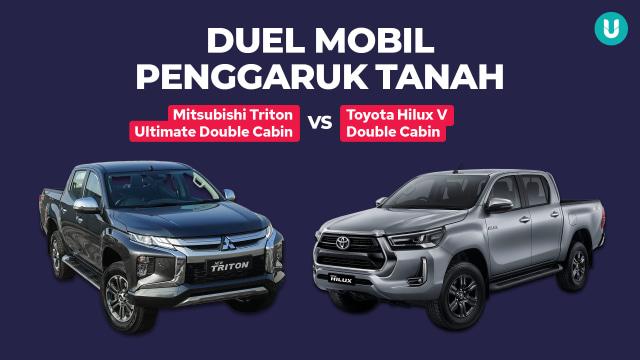 Mitsubishi Triton vs Toyota Hilux, Siapa Jawaranya?  (233576)