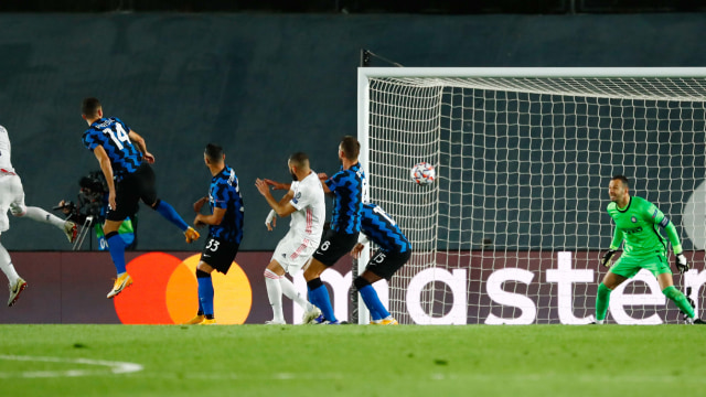 Inter Milan Vs Real Madrid Prediksi Line Up Head To Head Jadwal Tayang Kumparan Com