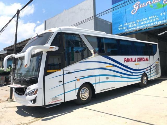 Naik Bus Pahala Kencana, Warga Madura Bisa Nikmati Layanan Kursi Pijat (87127)