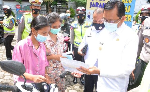 Operasi Zebra, Pjs Gubernur Jambi Beri Arahan Pentingnya Protokol Kesehatan (123513)